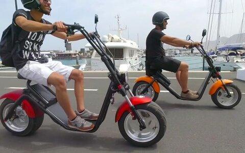 Alquiler de bicis y motocicletas