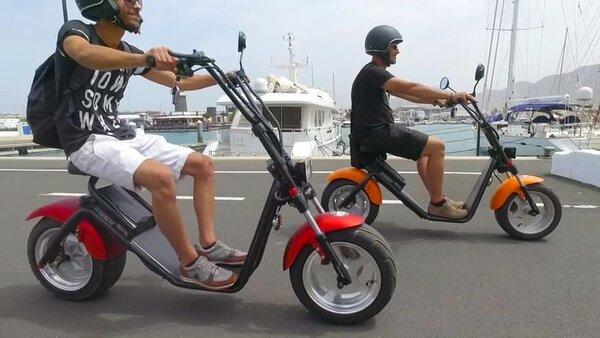 Alquiler de bicis y motocicletas en Conil de la Frontera y El Palmar