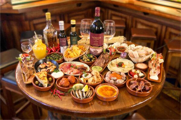 Comidas y Cenas en Bares de Tapas de Tarifa