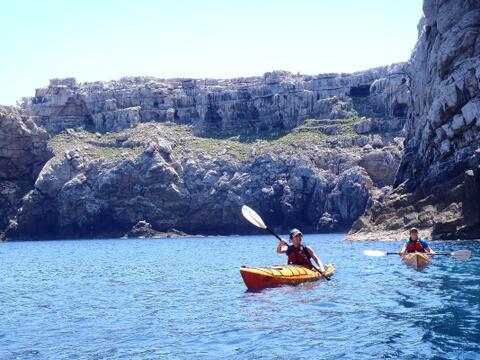 Kayak en Tarifa - Ruta en kayak de Punta Paloma