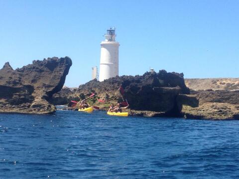 Kayak en Tarifa - Ruta en kayak de la Isla de Tarifa