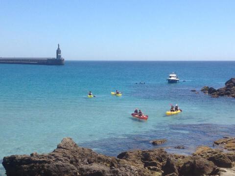 Kayak en Tarifa - Ruta en kayak de la Isla de las Palomas