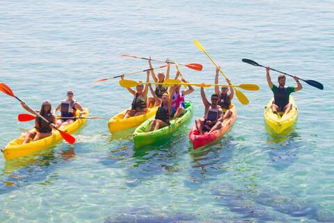 Kayak en Tarifa - Kayak en Tarifa para despedidas de soltero