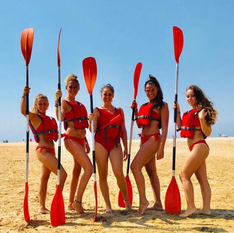 Kayak en Tarifa - Kayak en Tarifa para despedidas de soltera