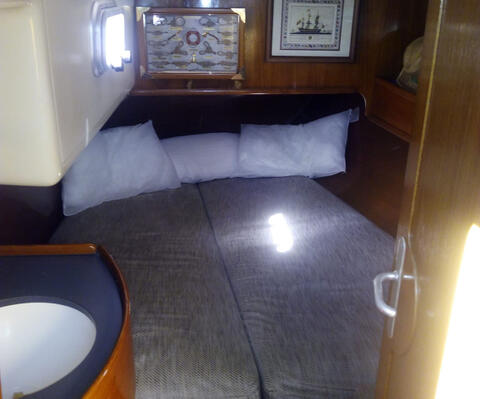 Paseos en Barco en Tarifa - Velero en Tarifa - Habitación interior