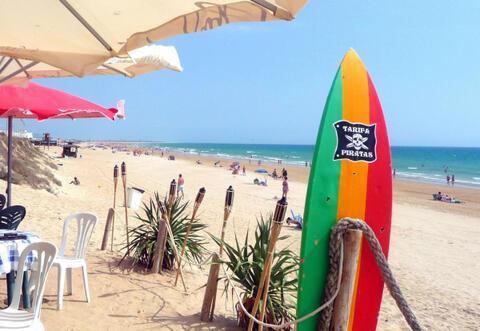 Conil de la Frontera es el sitio perfecto para tus Despedidas de Soltera o Soltero - Playa-El-Roqueo-Conil-de-la-Frontera.jpg