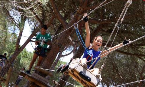 Paseos entre ramas en Conil de la Frontera y El Palmar - Paseos Entre Ramas Aventura